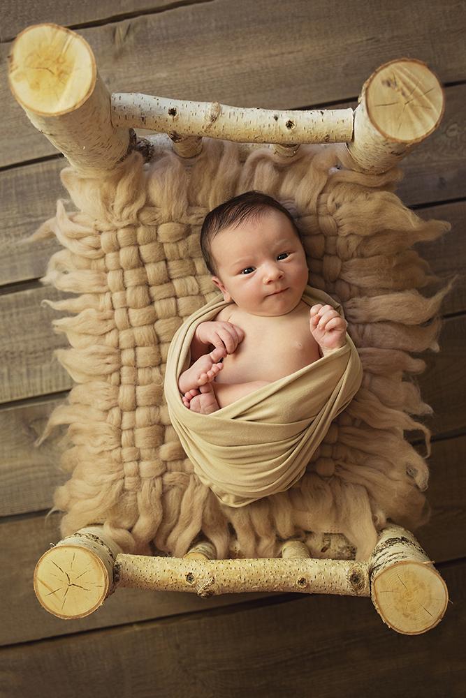 Mali srčki fotografiranje otrok in družin novorojenček 1