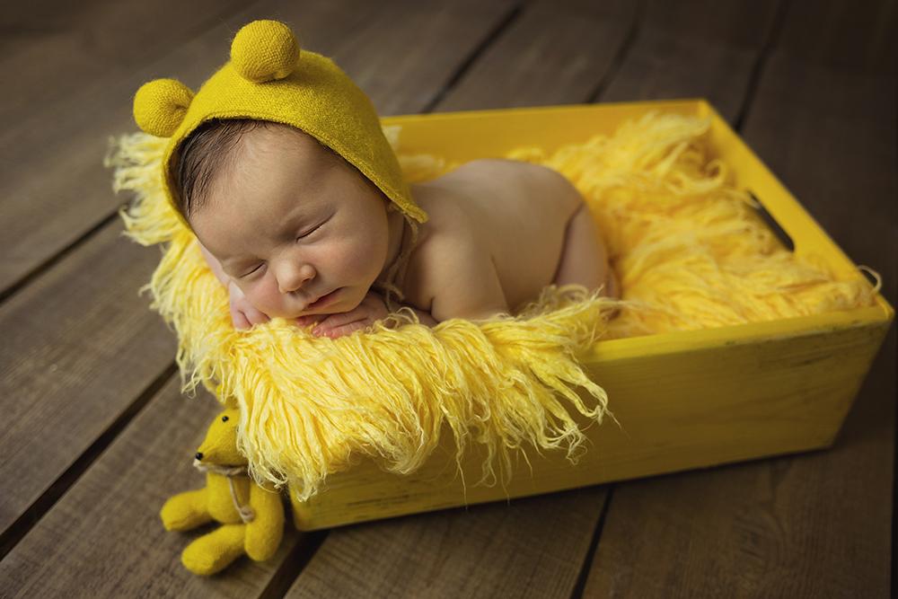 Mali srčki fotografiranje otrok in družin novorojenček 10