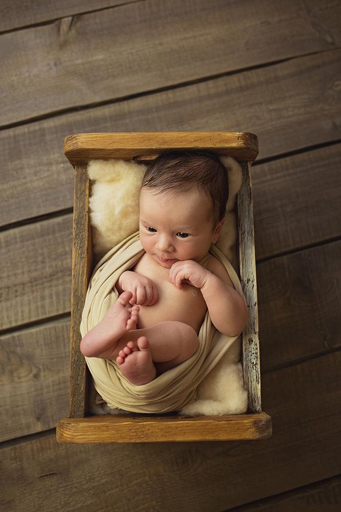 Mali srčki fotografiranje otrok in družin novorojenček 4