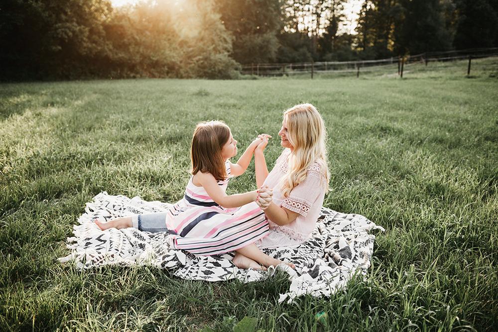 Družinsko fotografiranje - Mali srčki 1
