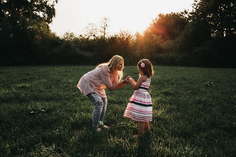 Družinsko fotografiranje - Mali srčki 4