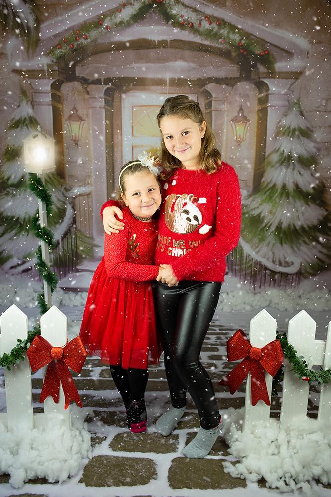 Božično fotografiranje - Mali srčki 0