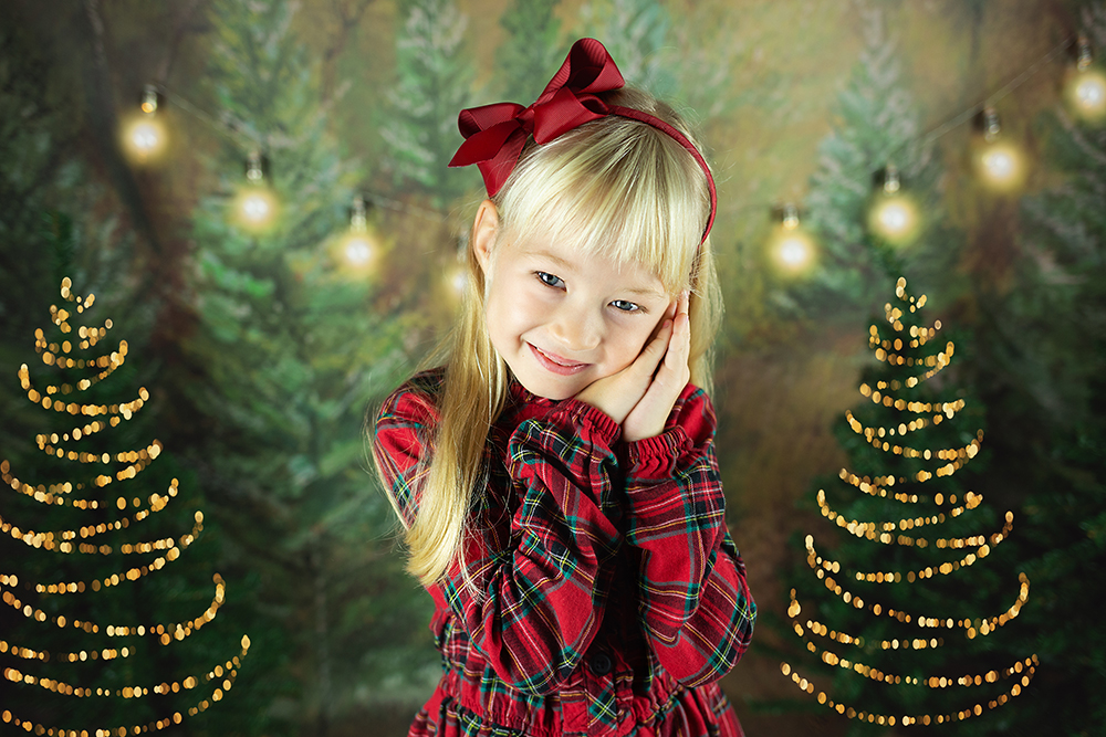 Božično fotografiranje - Mali srčki 1
