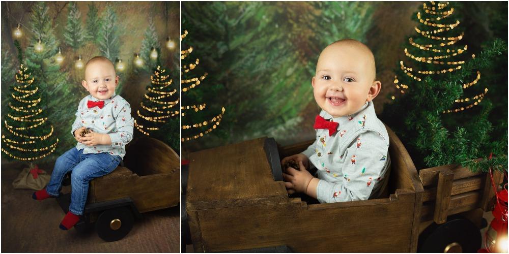 Božično fotografiranje - Mali srčki 10