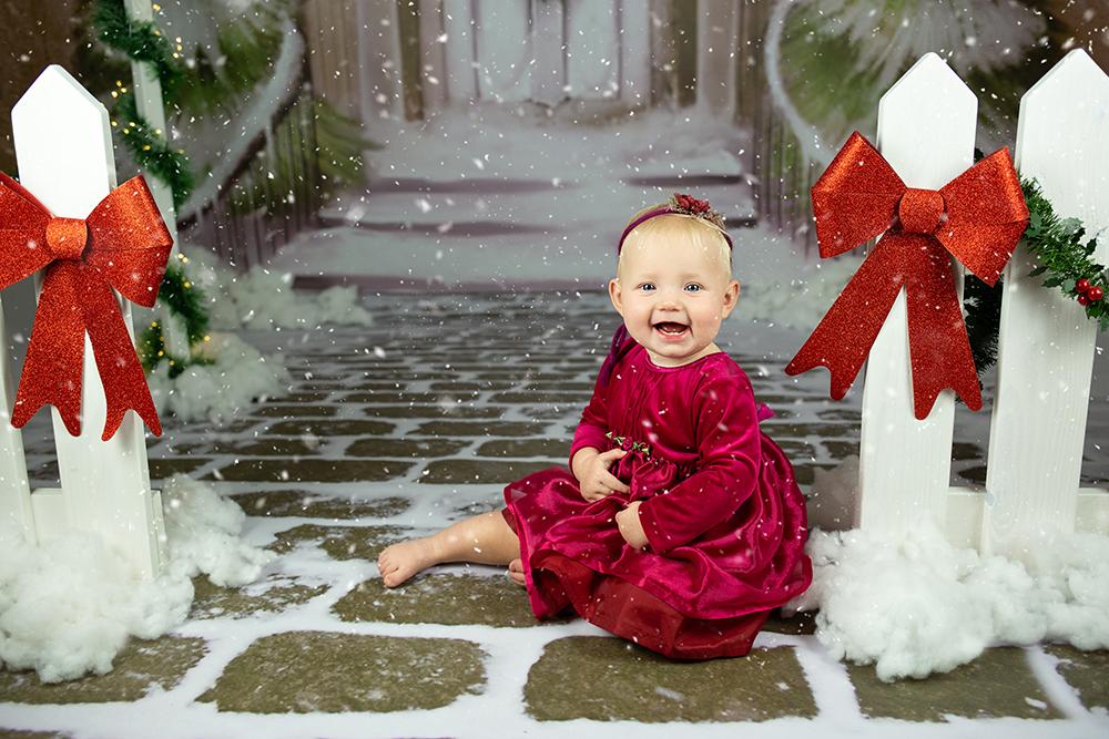 Božično fotografiranje - Mali srčki 11