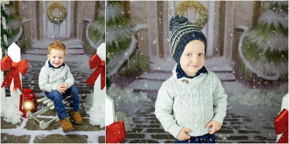 Božično fotografiranje - Mali srčki 13