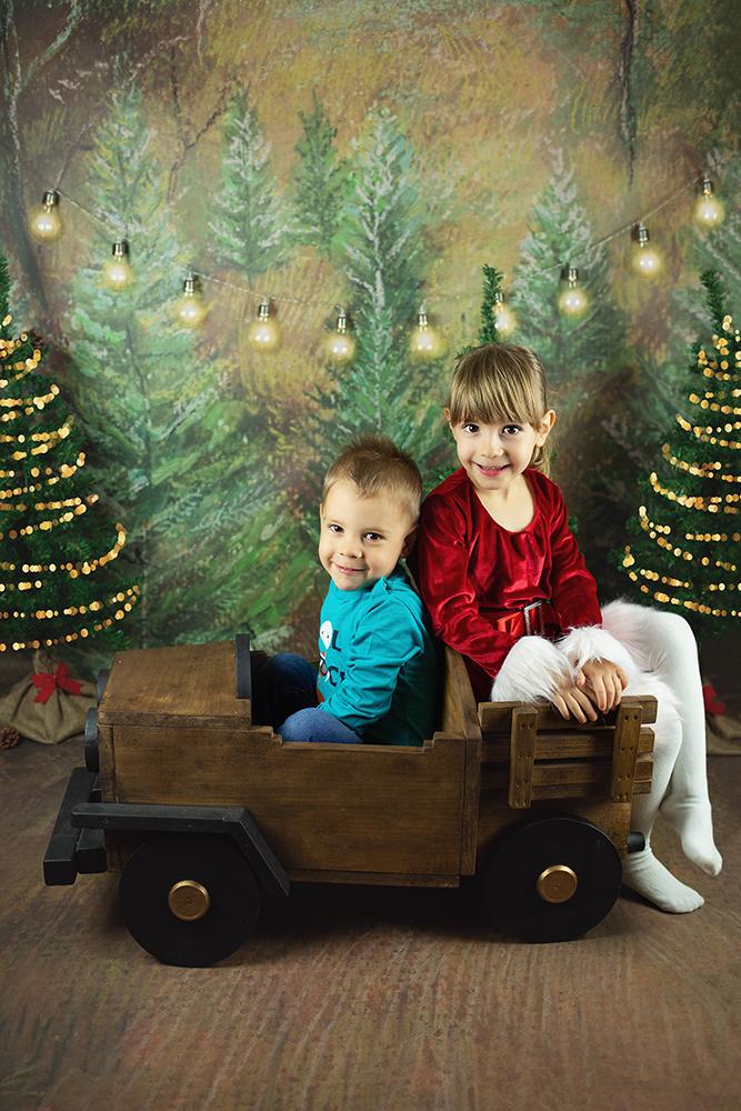 Božično fotografiranje - Mali srčki 16