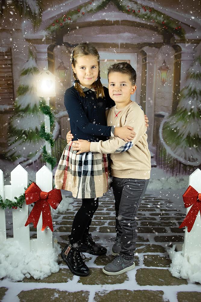 Božično fotografiranje - Mali srčki 17