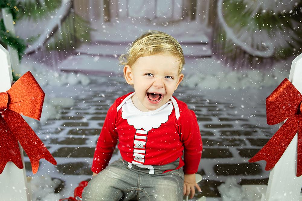 Božično fotografiranje - Mali srčki 18