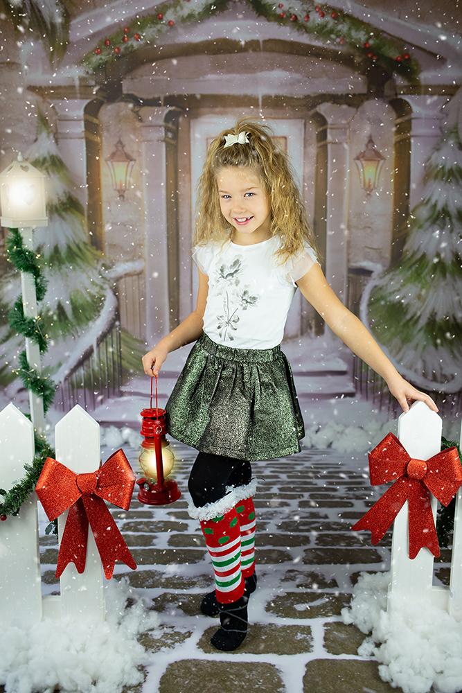 Božično fotografiranje - Mali srčki 19
