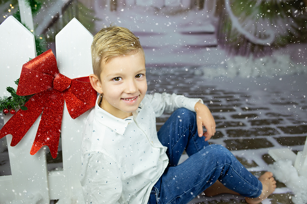 Božično fotografiranje - Mali srčki 2