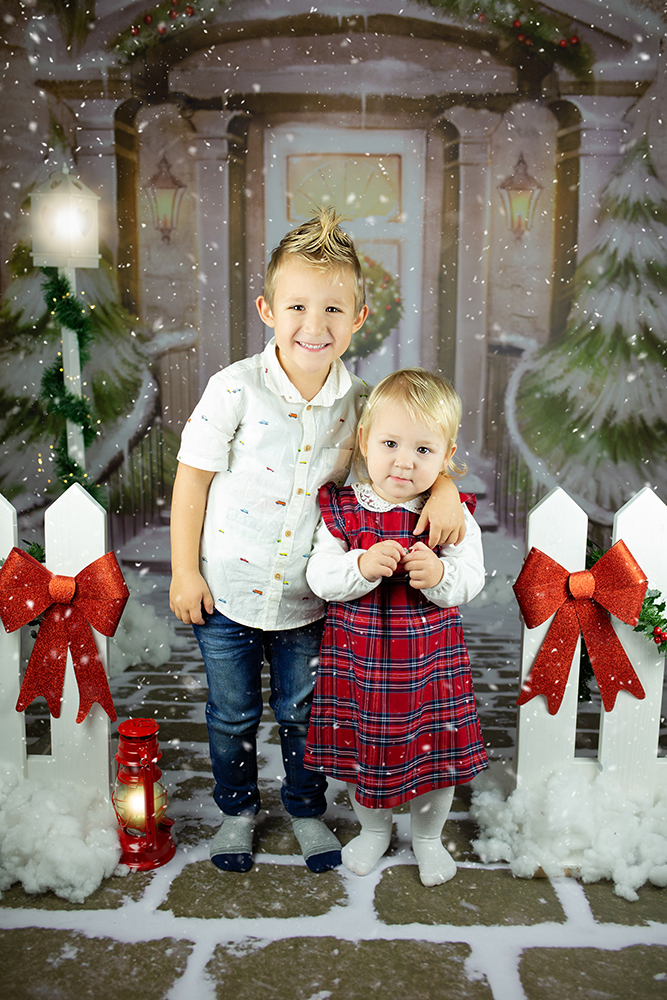 Božično fotografiranje - Mali srčki 22