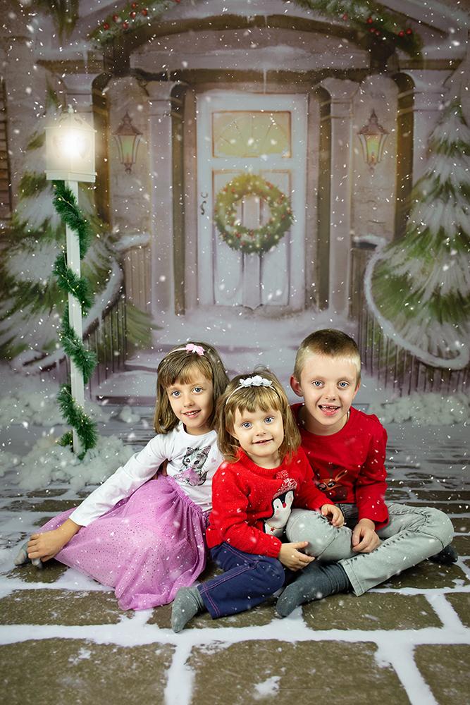 Božično fotografiranje - Mali srčki 29