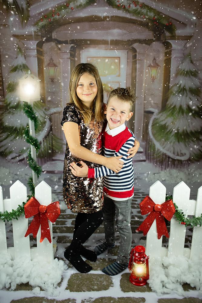 Božično fotografiranje - Mali srčki 33