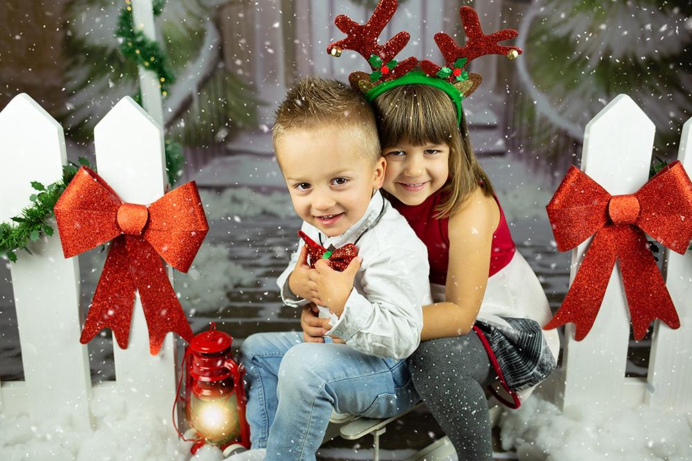 Božično fotografiranje - Mali srčki 34