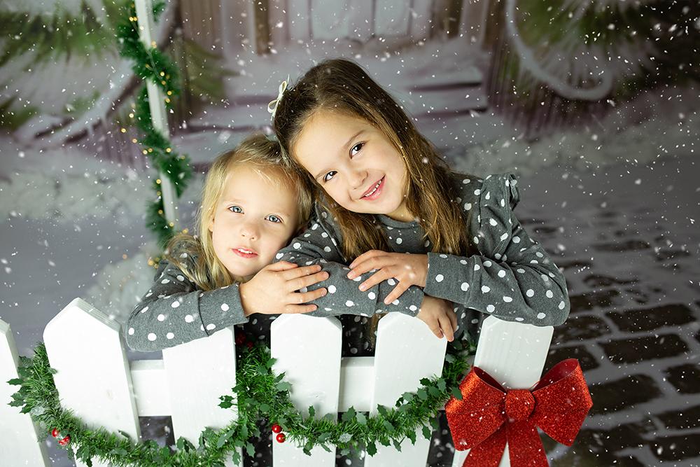 Božično fotografiranje - Mali srčki 38