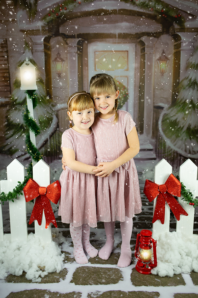 Božično fotografiranje - Mali srčki 39