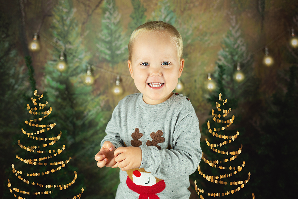 Božično fotografiranje - Mali srčki 42