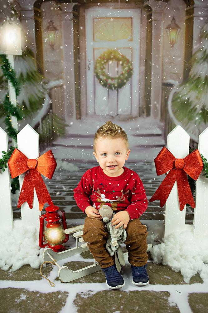 Božično fotografiranje - Mali srčki 43