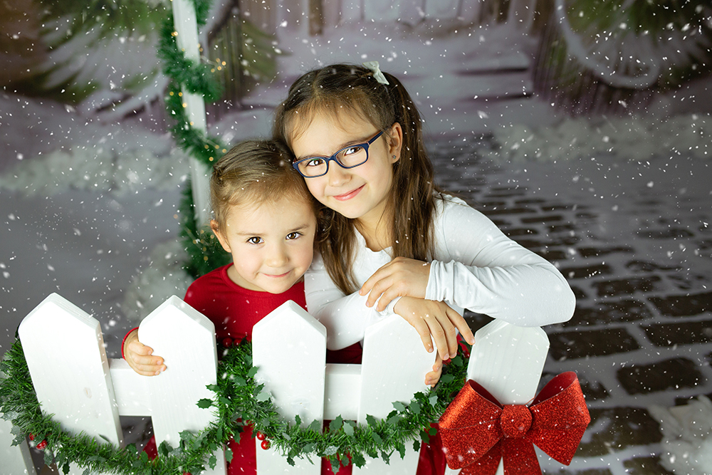 Božično fotografiranje - Mali srčki 44