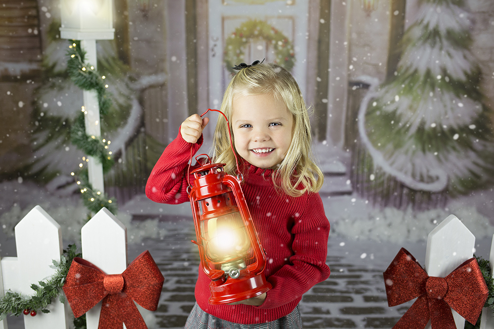 Božično fotografiranje - Mali srčki 5