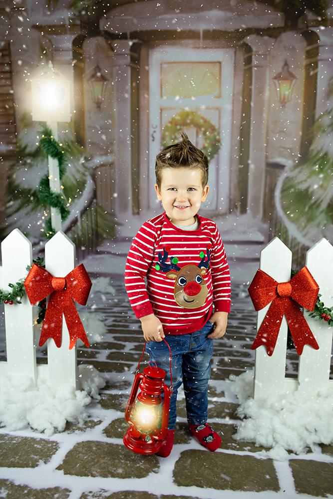 Božično fotografiranje - Mali srčki 9