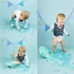 mali srčki - cake smash fotografiranje - prvi rojstni dan 3