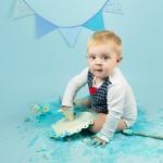 mali srčki - cake smash fotografiranje - prvi rojstni dan 9
