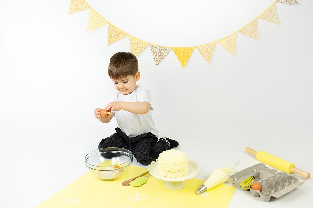Mali srčki - Cake smash fotografiranje s tortico 1