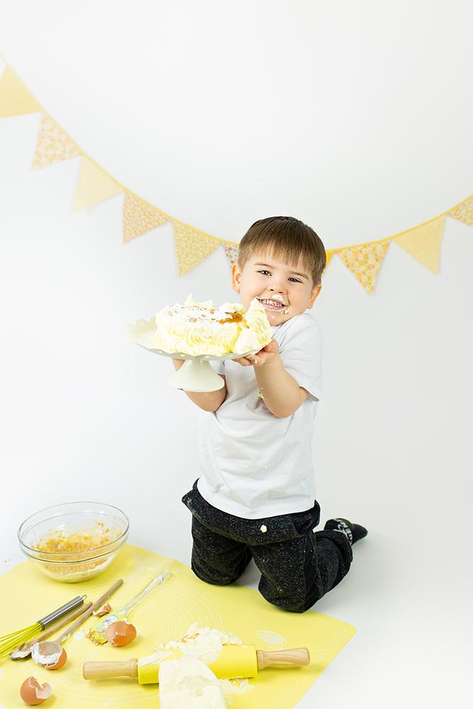 Mali srčki - Cake smash fotografiranje s tortico 10