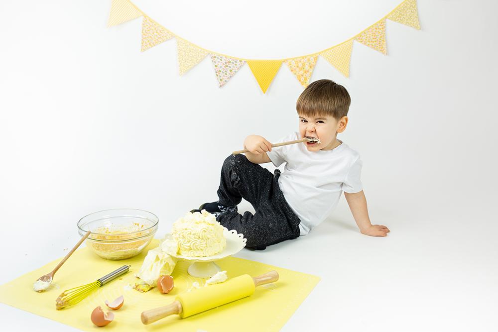 Mali srčki - Cake smash fotografiranje s tortico 5