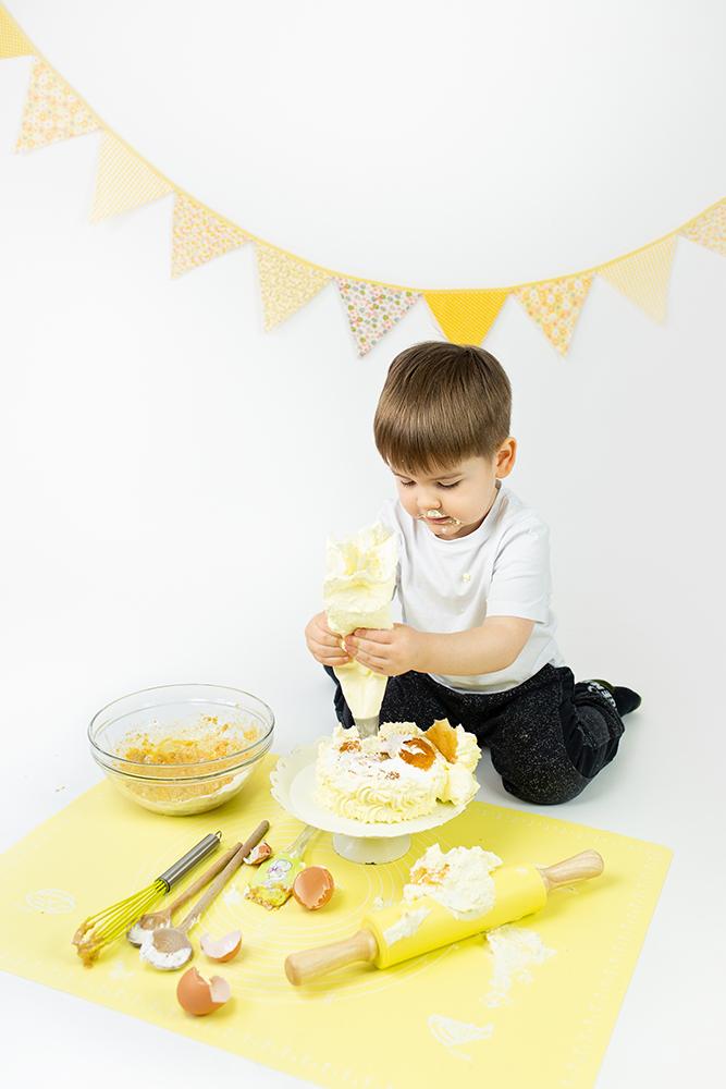 Mali srčki - Cake smash fotografiranje s tortico 9