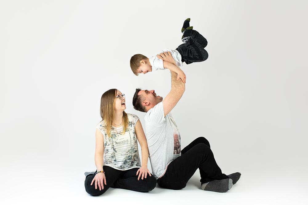 Mali srčki - družinsko fotografiranje