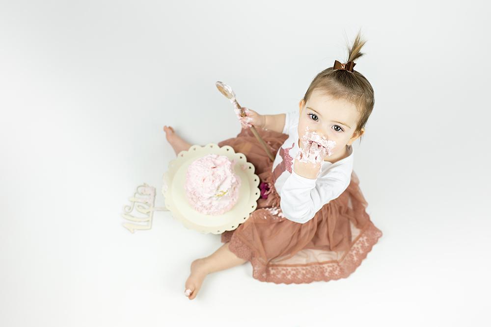 Malisrcki - fotografiranje za prvi rojstni dan - cake smash 2