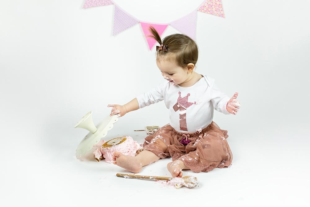 Malisrcki - fotografiranje za prvi rojstni dan - cake smash 4