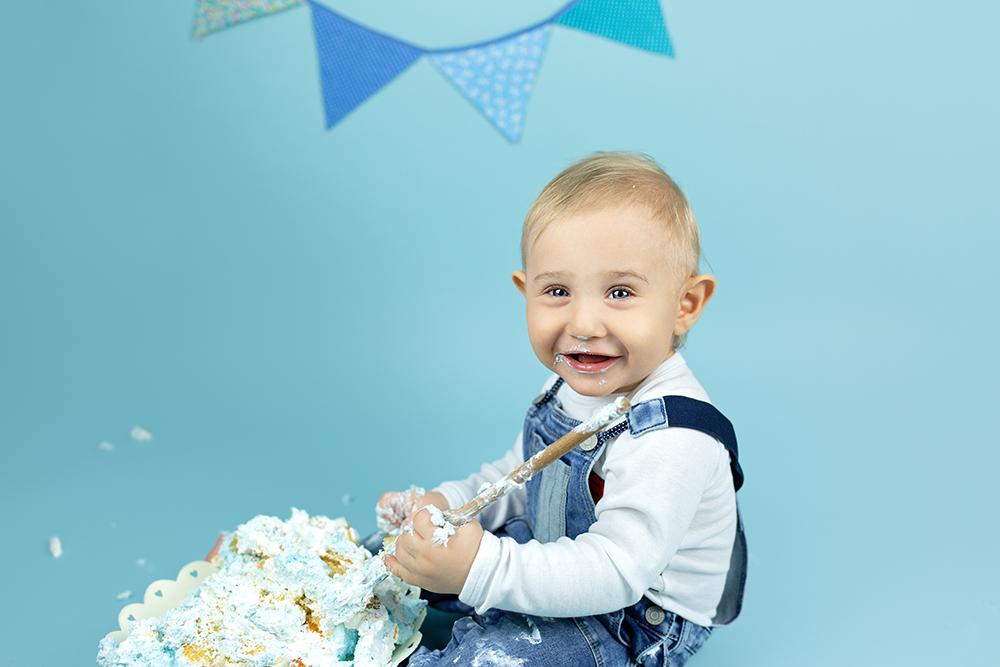 Malisrcki - fotografiranje za prvi rojstni dan - cake smash 7