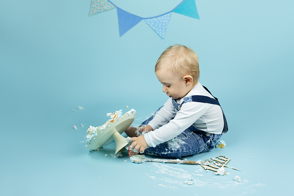 Malisrcki - fotografiranje za prvi rojstni dan - cake smash 8