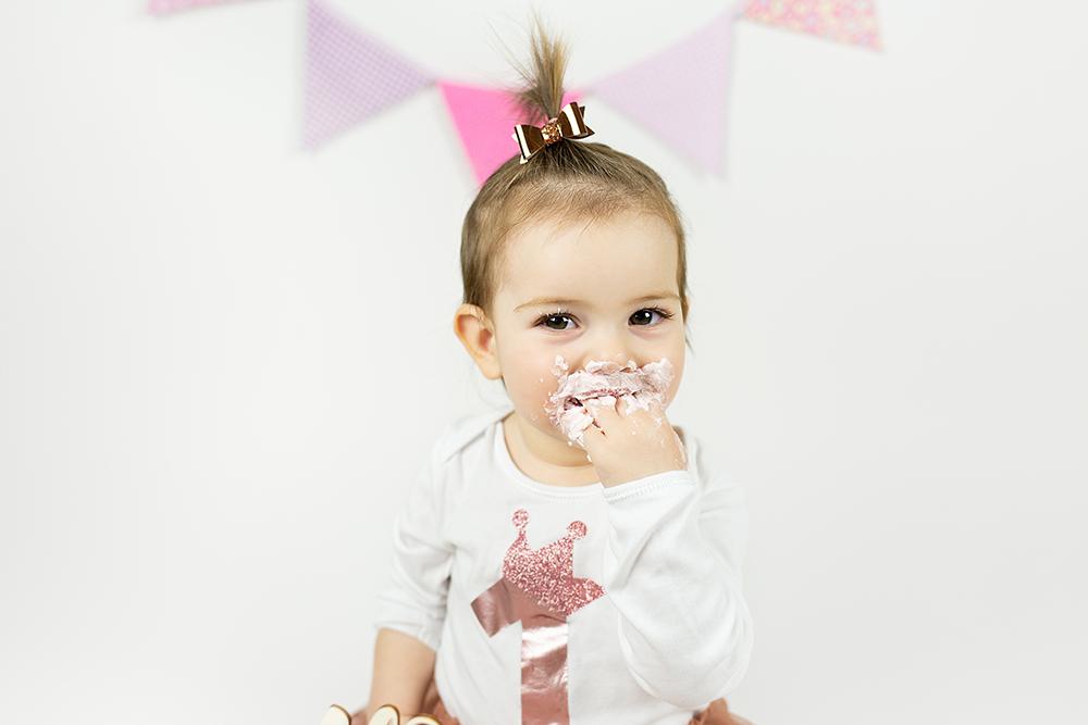 Malisrcki - fotografiranje za prvi rojstni dan - cake smash1