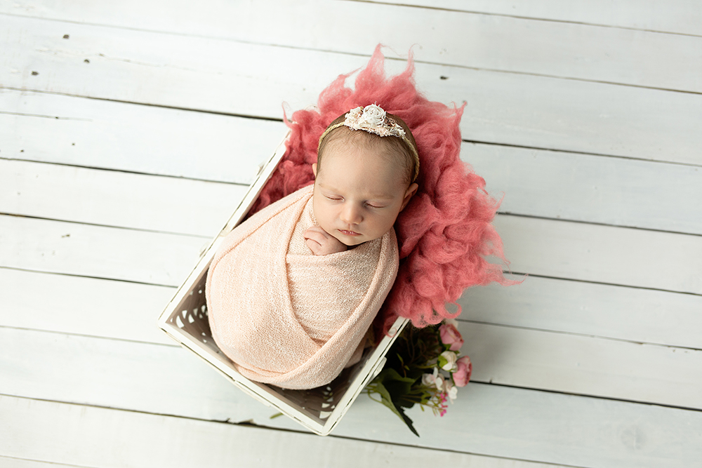 Mali srčki - fotografiranje novorojenčka 5