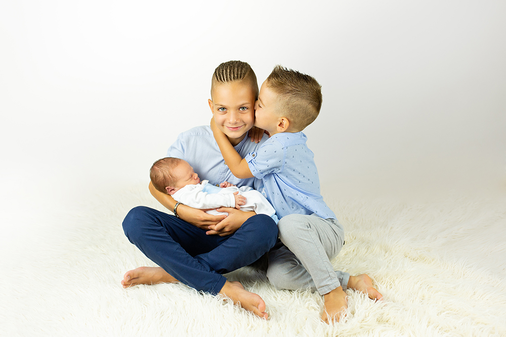 Mali srčki - Fotografiranje novorojenčka 2