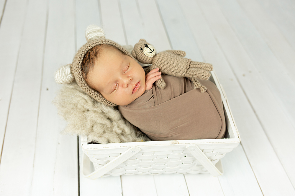 Mali srčki - Fotografiranje novorojenčka 3