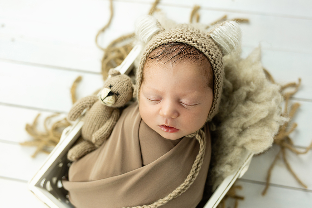 Mali srčki - Fotografiranje novorojenčka 4