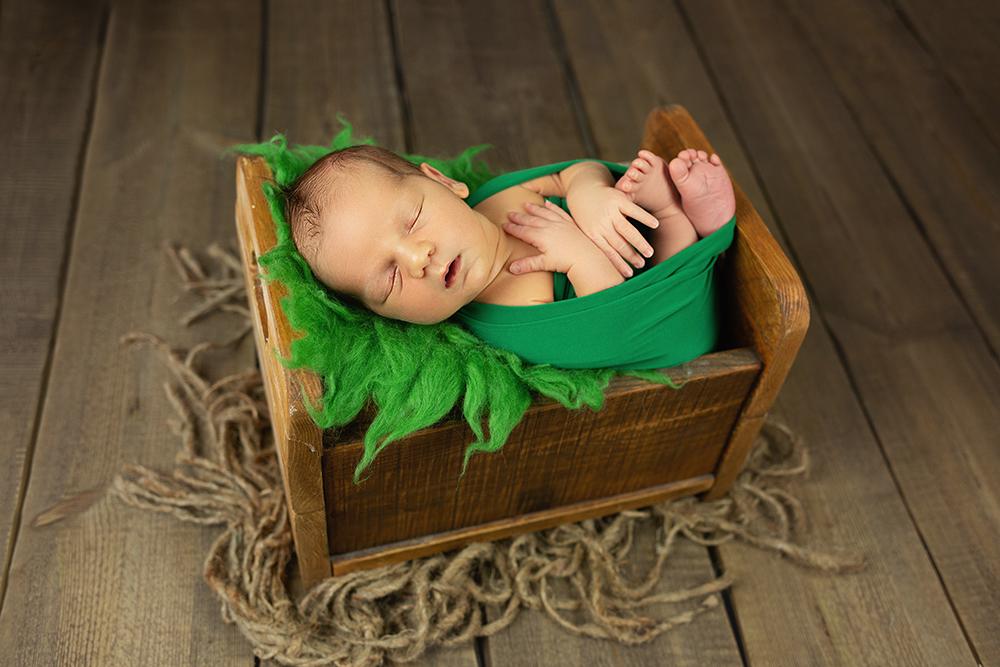 Mali srčki - Fotografiranje novorojenčka 7